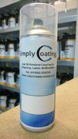 Cellulose Topcoat Aerosol mixed to Gloss & Colour of your choice 400ml